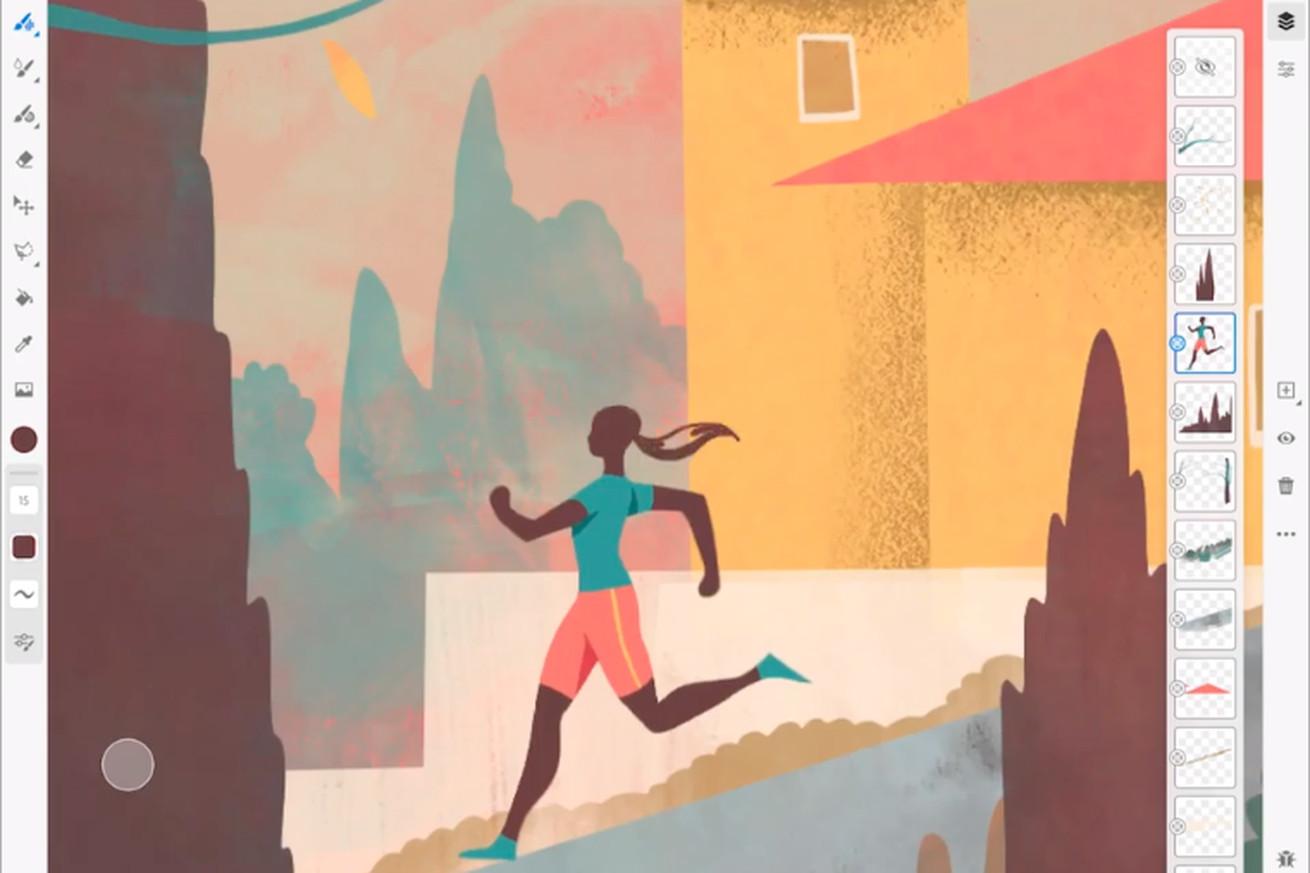 Adobe Fresco نرم افزار طراحی و نقاشی جدید شرکت آدوبی بر روی تبلت های اپل