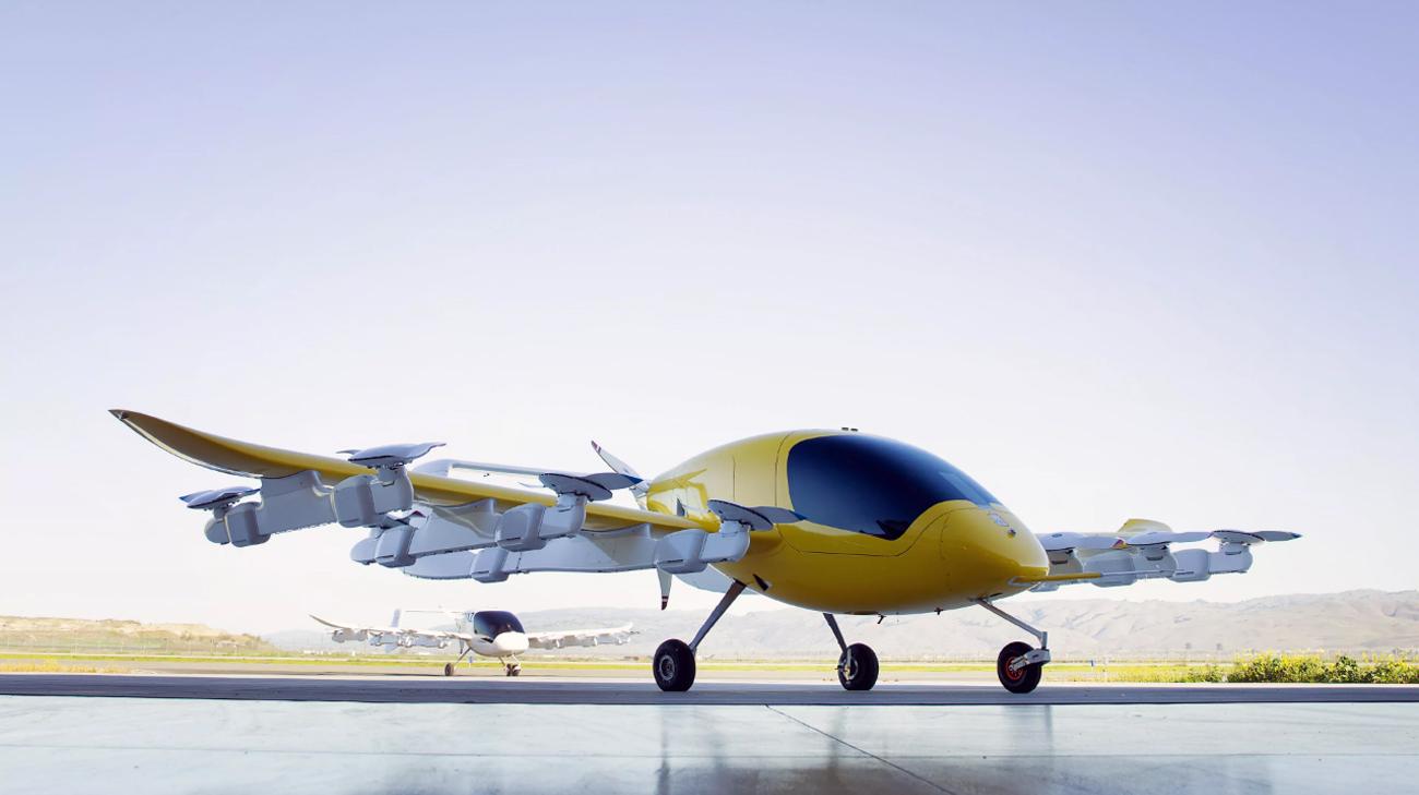 کیتی هاوک و بوئینگ در پروژه ماشین های پرنده شریک می شوند