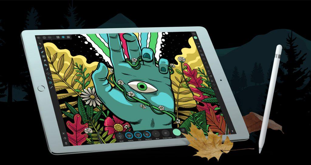 نقاشی دیجیتال با آی پد پرو