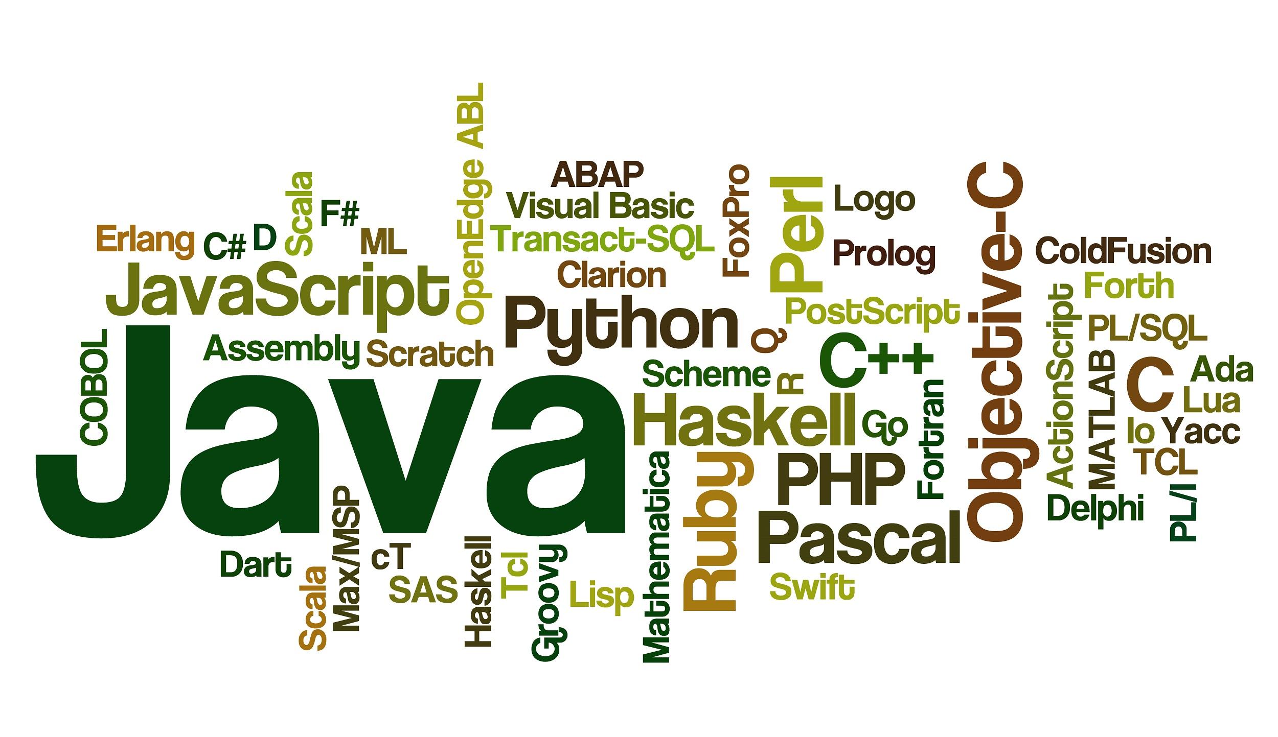 ۸ زبان برتر برنامه نویسی برای طراحی وب سایت در سال ۲۰۱۹